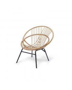 LOTTI STEEL LEG CHAIR M