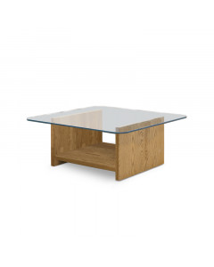 GLASS LOW TABLE SQ