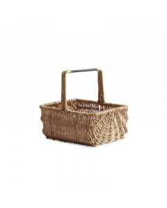 RECT BLACK HANDLE BASKET/S