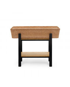 PLANTER STAND LOW BK