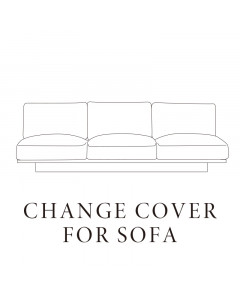 CLOUD LOW SOFA WIDE3P / COVER