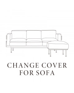 FOB SOFA BOX TOP SEAT WIDE3P / COVER