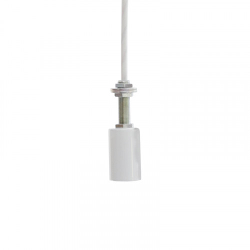 1LIGHT SOCKET WH 100CM