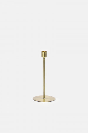 BRASS CANDLE HOLDER/LONG