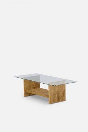 GLASS LOW TABLE RT