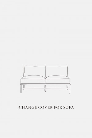 CLOUD SOFA 2P / COVER