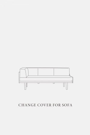 DAY SOFA 2.5P COUCH L / COVER