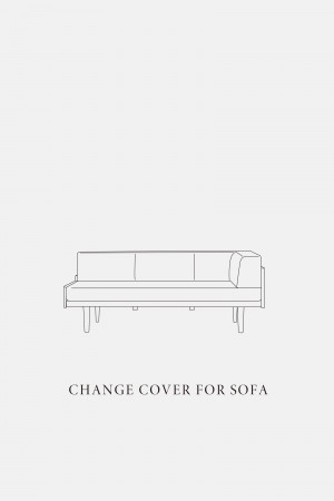 DAY SOFA 2.5P COUCH R  / COVER