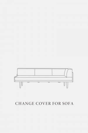 DAY SOFA 3P COUCH R / COVER